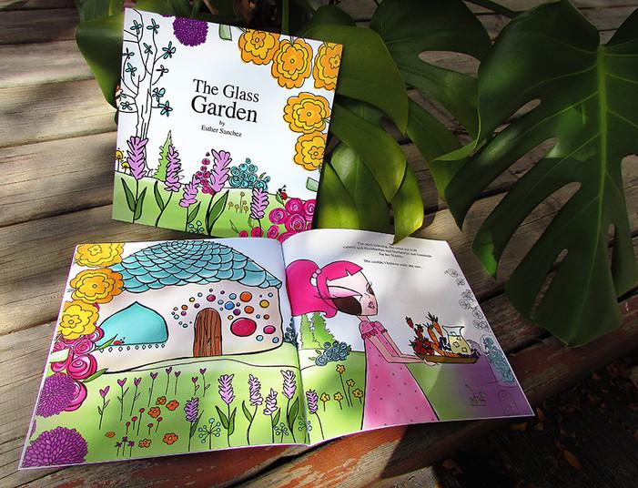 The Glass Garden children's book