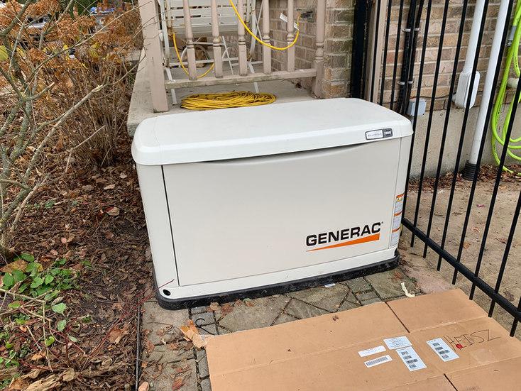 Installed NG Generator