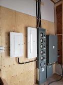 Upgraded Circuit Panel & Meters