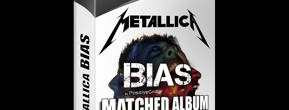 Metallica Bias Amp 1 Matched Album