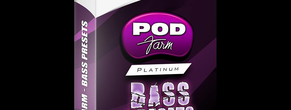 Bass Presets - POD Farm Presets Pack