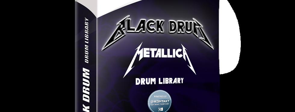BLACK DRUM - Metallica Drum Library   Kontakt 5