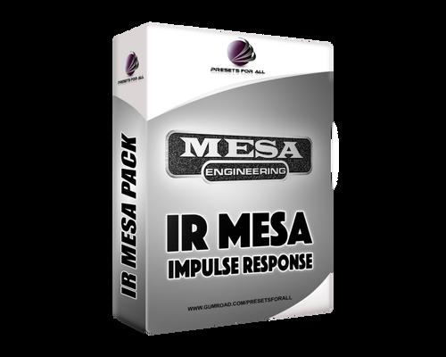 IR MESA - Guitar Impulse Response Pack   presetsforall