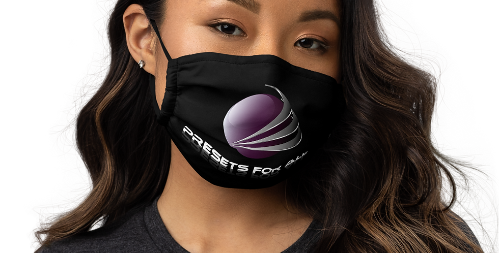 Premium face mask - Presets For All logo