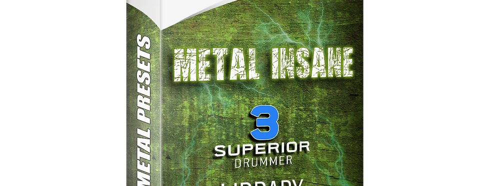 METAL INSANE Drum Library Project - Superior Drummer 3