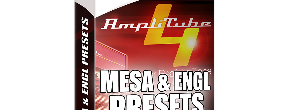 MESA & ENGL Presets Pack | Amplitube 4