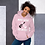 Thumbnail: Light Pink Unisex Hoodie - Make Noise Feel Better