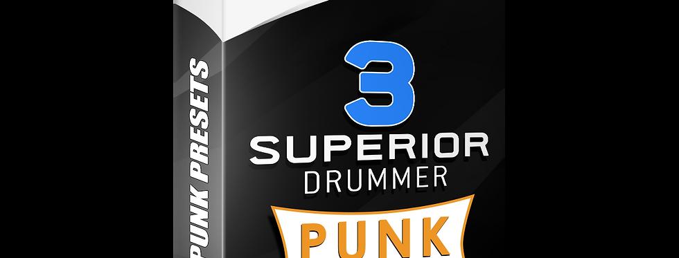 PUNK PRESETS - Superior Drummer 3 Presets Pack