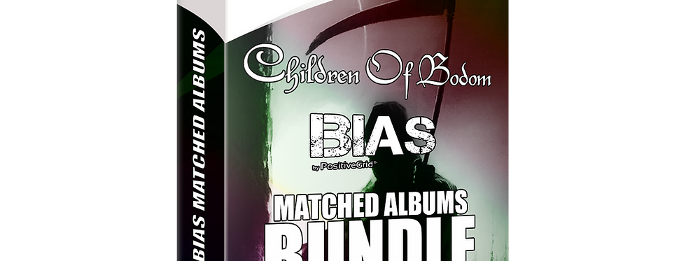 Children Of Bodom BIAS 1 Albums Matched BUNDLE