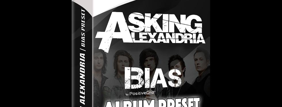 Asking Alexandria BIAS 1 Album Preset PACK