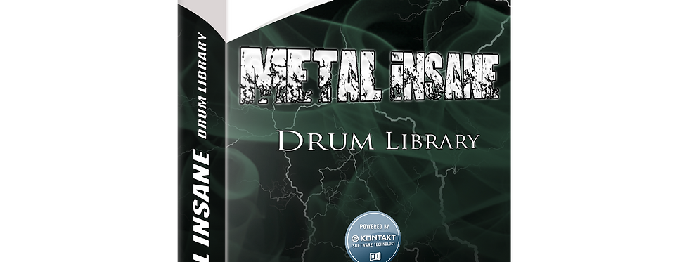 METAL INSANE Drum Library | NI Kontakt 5