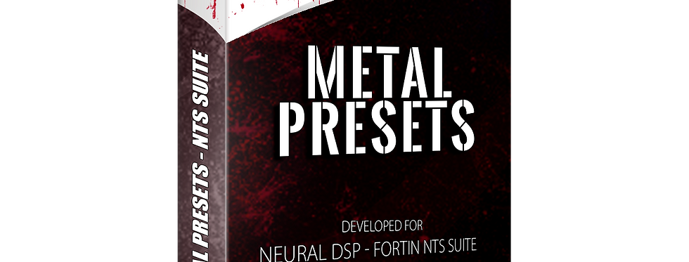 METAL PRESETS - Fortin NTS Suite