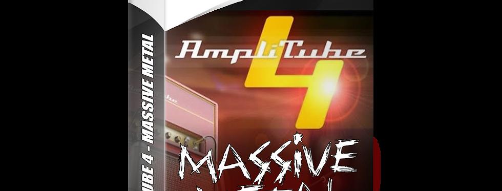 Massive Metal Amplitube 4 Presets Pack
