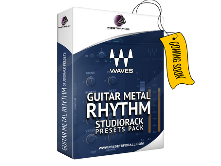 Rhythm Guitar FX Chain presets for StudioRack by WAVES.     Available soon!