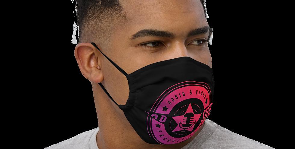 Premium face mask - Mad Steex Production Logo