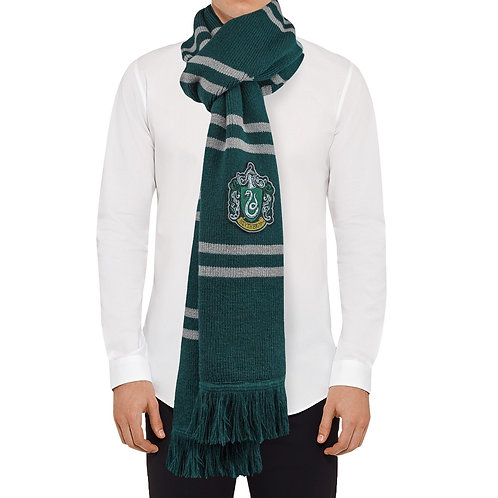 Harry Potter: Deluxe Slytherin Scarf