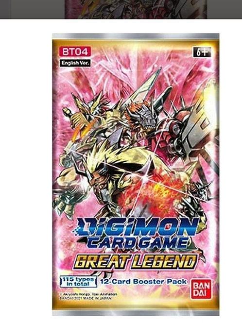 Booster Digimon Great Legend BT04