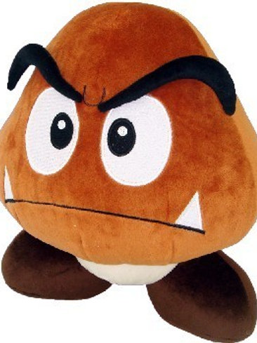 Super Mario Bros.: BIG Goomba 12 inch Plush