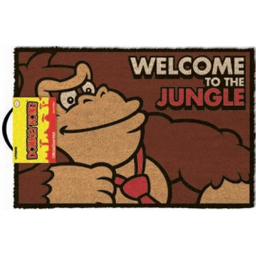 TAPETE DONKEY KONG WELCOME TO THE JUNGLE