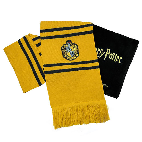 Harry Potter: Deluxe Hufflepuff Scarf