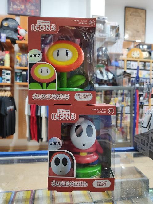 Candeeiros Super Mario