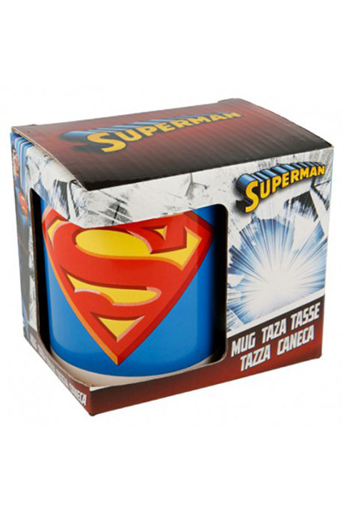 Caneca ceramica c/cx 325ml Superman icon