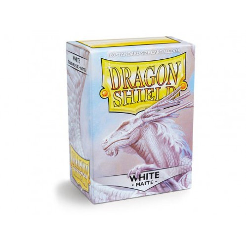 Dragon Shield Sleeves MATTE (100) White