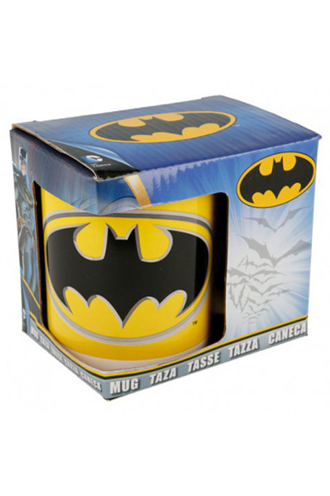 Caneca de ceramica c/cx. 325ml Batman