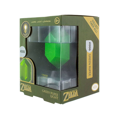 LAMPADA RUPIA VERDE THE LEGEND OF ZELDA