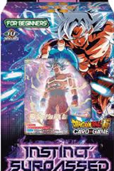 CARTAS Dragon Ball TCG Starter Deck Instinct Surpassed