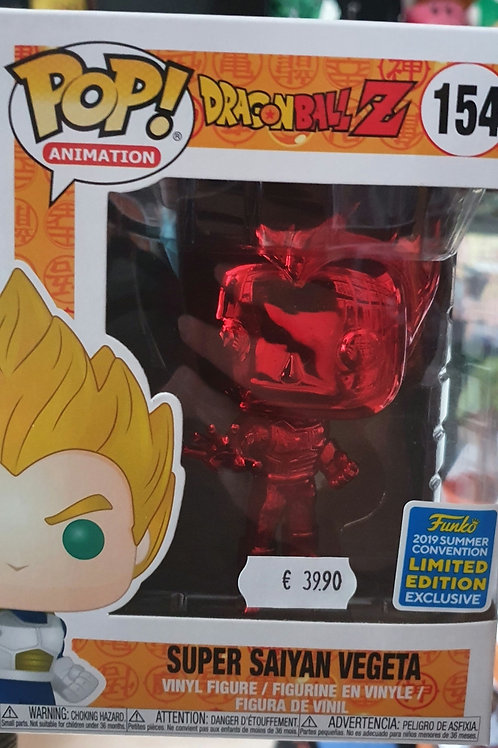 POP Vegeta Red - Dragon Ball