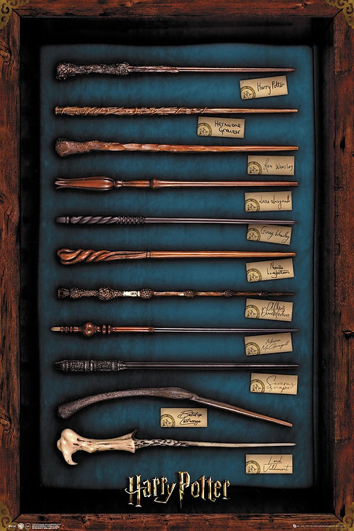Harry Potter: Wands 92 x 61 cm Poster