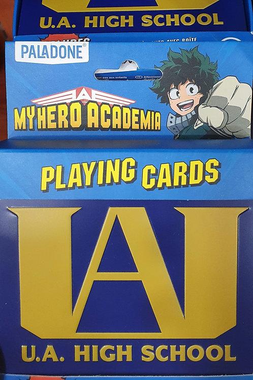 Playing Cards My Hero Academia