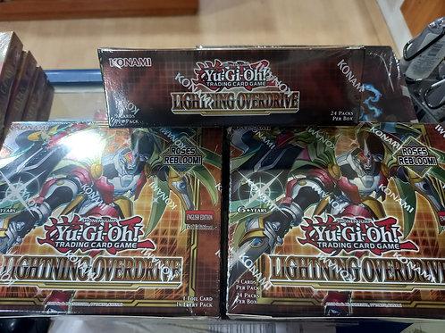 Booster Yu Gi Oh Lightning Overdrive