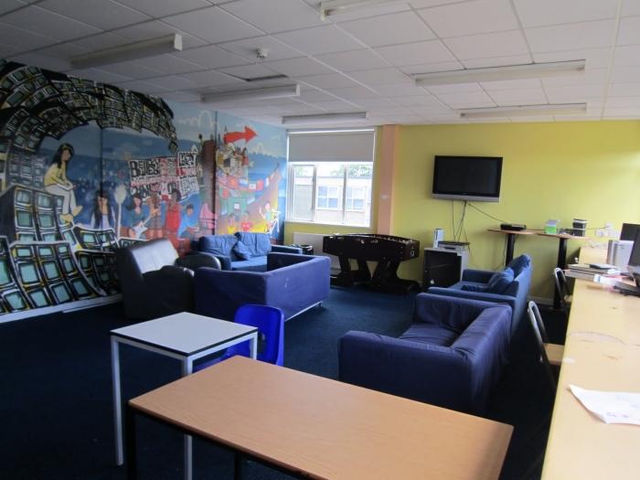 Bellerbys London students' lounge