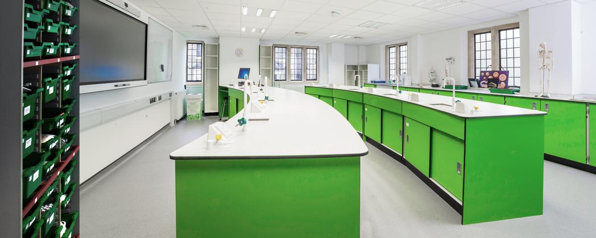 Bellerbys Cambridge lab