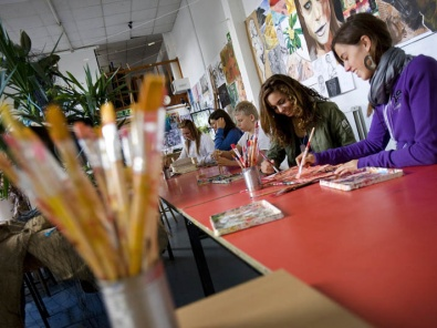 Warminster school drawing class