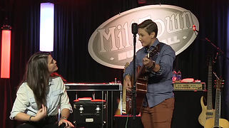 Jacye & Mindee performing at Mill Town Music Hall in Breeman, GA