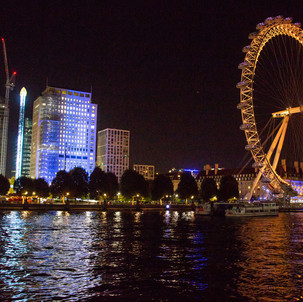 Shell Centre and The London Eye