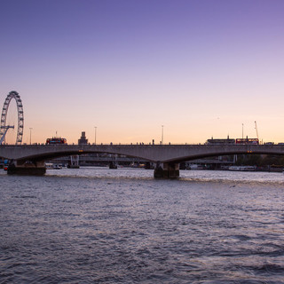 Dusk over the River Thames
