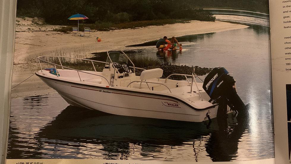 Sold! Boston Whaler 180 Dauntless
