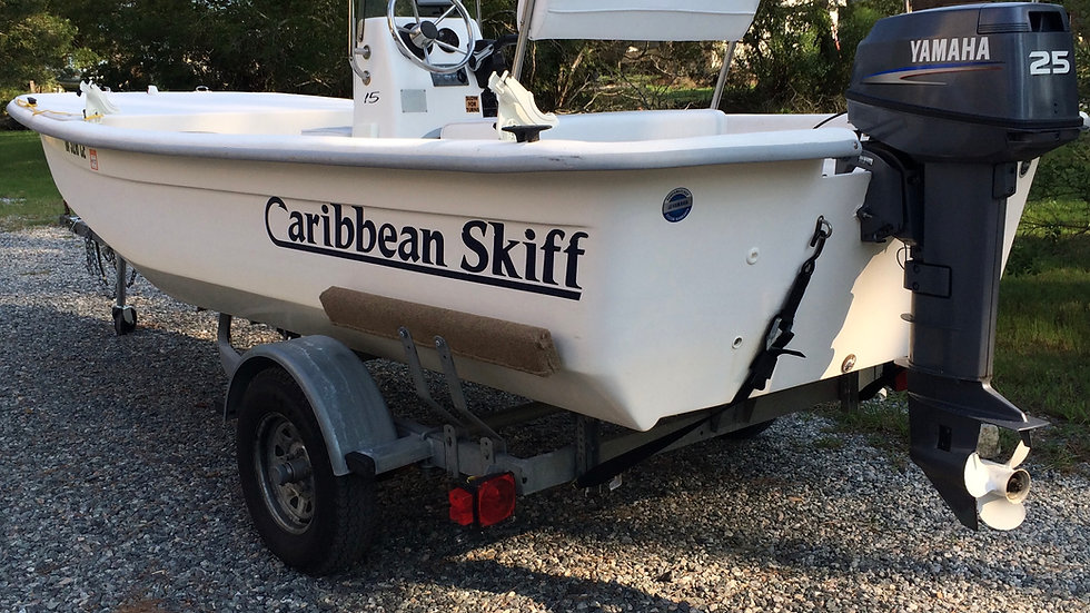 Sold! 2009 Caribbean Skiff 15 - Super Wide