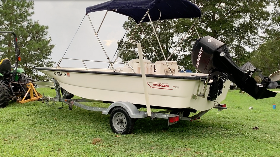 ~Sold~ Beautiful Boston Whaler 150 Sport - ONLY 61 HOURS!