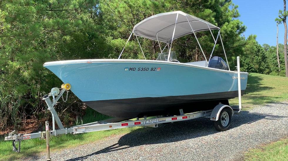 ~Sold~  2016 Sportsman Island Reef 19 Center Console