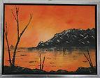 awesome sunset 30x40 cm.jpg
