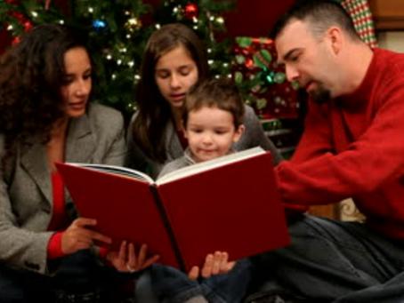 Sharing stories at Christmas
