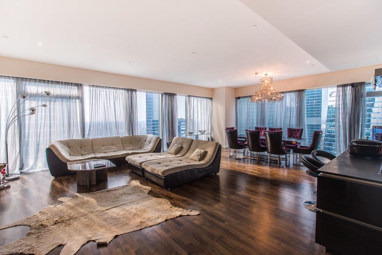 Апартаменты в аренду Москва Сити