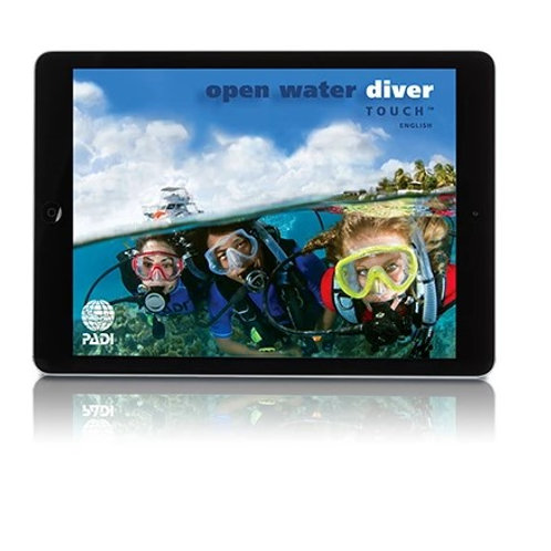 PADI Open Water Course - Digital OW Touch
