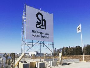 Sh bygg blir ny Officiell partner