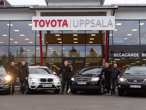 Toyota Uppsala ny Officiell partner